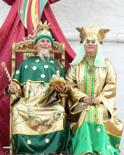 Костюм царя гороха своими руками фото